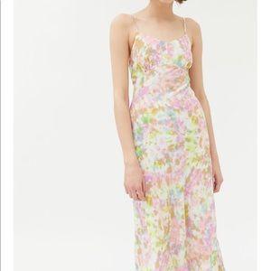 NWT Anthropologie Charisma Tie-Dye Slip Dress